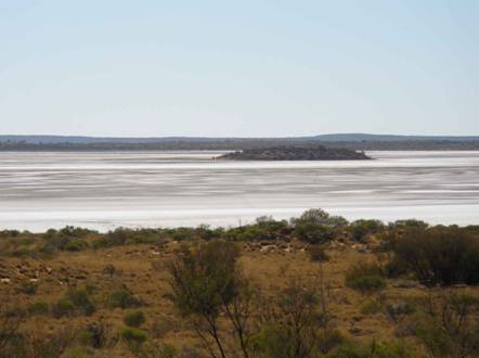 dry lakes in northern territory