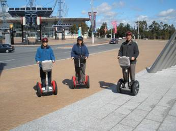 Segway tour at Olympic Park Sydney