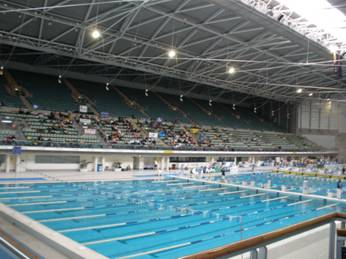 swimming pools in Olympic park - Sydney