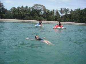 Jet ski in manuel antonio beach
