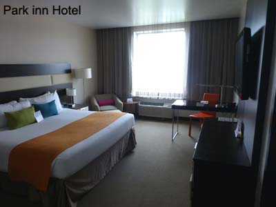 room in park inn hotel