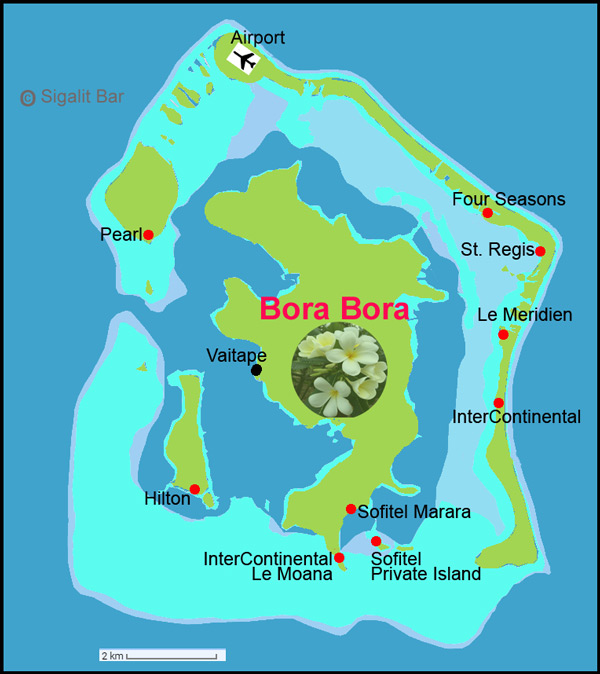 Bora Bora Vacation and Travel Attractions