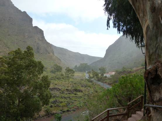 mountain view in the Canary Islands