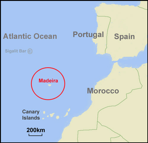 Map Of Spain And Its Islands.Top 10 Punto Medio Noticias Portugal Map Islands