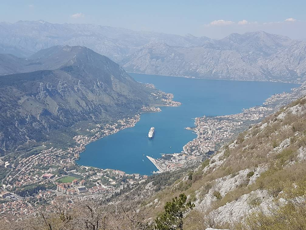 View of the Bay and Kotor