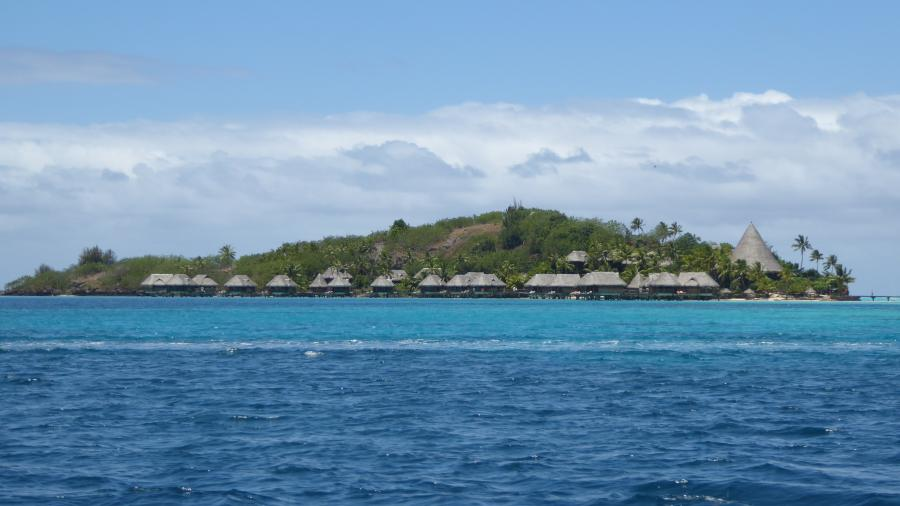 Sofitel Motu on the private island