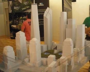 New World Trade Center Towers Model