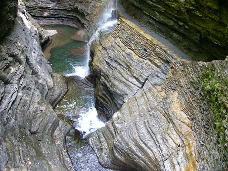 A Waterfall in the Gorge