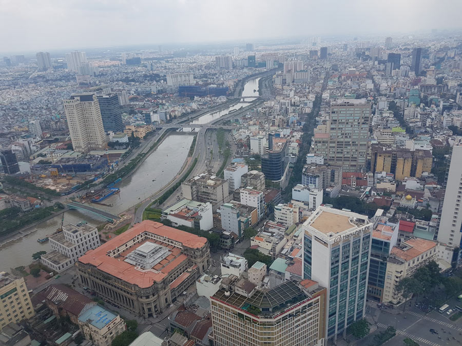 Saigon from the watchtower